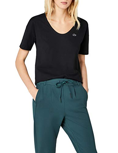 Para Camiseta Negro noir Mujer 031 Lacoste v5wZaRq8