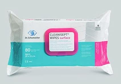 Cleanisept Wipes Surface Toallitas desinfectantes 20 x 22 cm