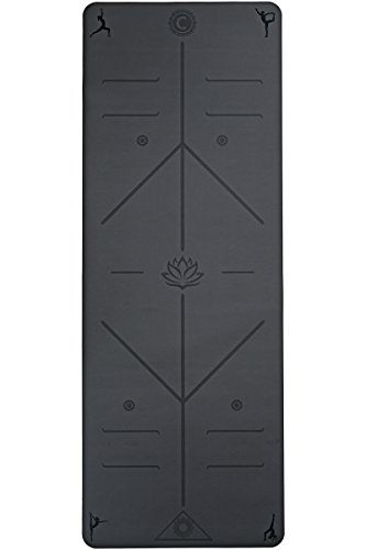 The Ultimate Yoga Mat by Chandra Yoga & Active Wear - Hematite (Black)