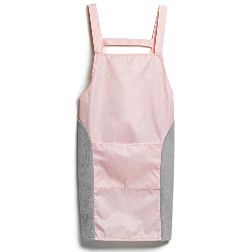(INSHA Everyday Apron Bib Personalized Adjustable Apron with Pockets Aprons for Women Men Chef BBQ Grilling Apron Size Fits All)