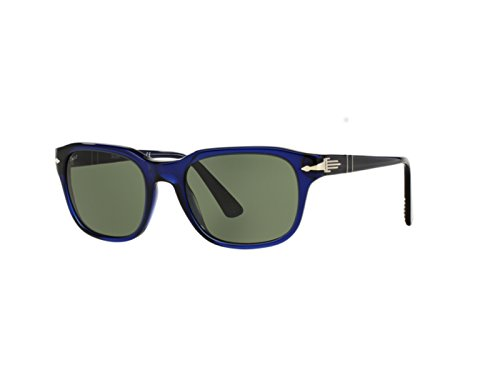 Persol Film Noir Sunglasses 3112 S 181/31 53x19 Blue / Green Made In - In Persol Sunglasses Italy Made
