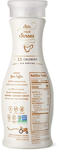 Califia Farms Hazelnut Almondmilk Coffee Creamer with Coconut Cream, 25.4 Oz (Pack of 6) | Dairy Free | Plant Based | Nut Milk | Vegan | Non-GMO