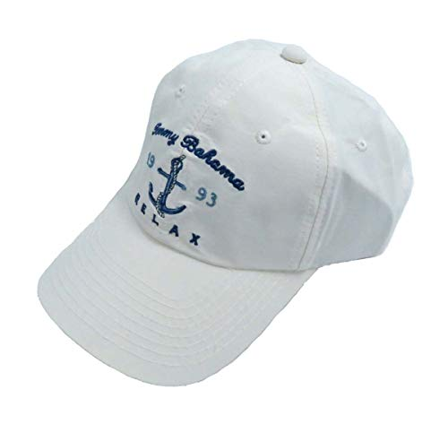 Tommy Bahama Men's Unstructured Baseball Cap White One Size ()