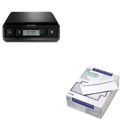 KITPEL1772055QUA11130 - Value Kit - Quality Park Park Ridge Embossed Executive Envelope (QUA11130) and Dymo M3 Digital Postal Scale (PEL1772055)