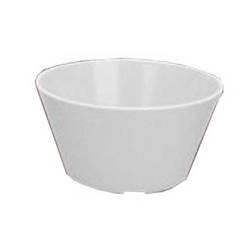 Yanco NS-302T Nessico Bouillon Cup, 8 oz Capacity, 2'' Height, 3.75'' Diameter, Melamine, Tan Color, Pack of 48