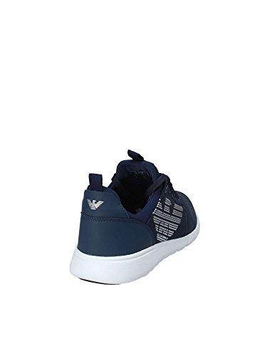 Blue Simple 7 Sneaker Uomo Racer EA Nero q8YBY