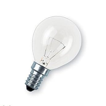 10 X Gluhlampe Gluhbirne Tropfen Kugel E14 40w 40 Watt Klar 230v