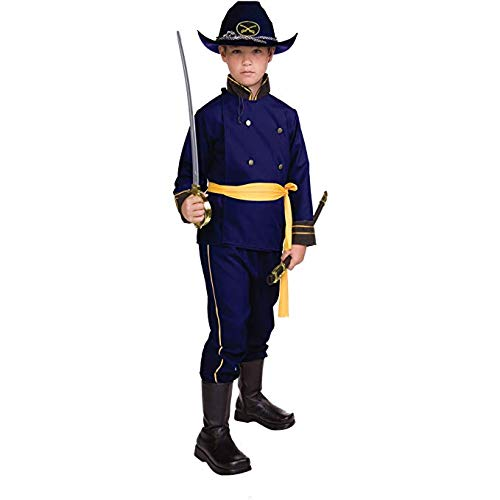 Boys Civil War Costume (RG Costumes Union Officer, Child Medium/Size)