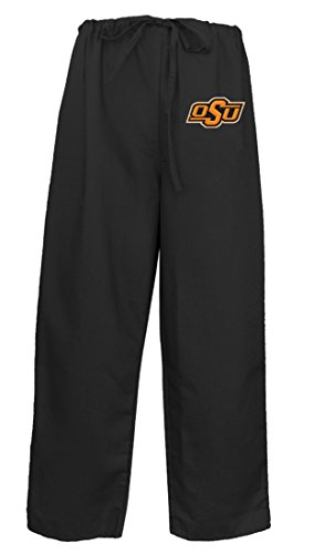 Oklahoma State Scrub Pants Scrubs Drawstring Bottoms for Men or Ladies! (Oklahoma State Pant)