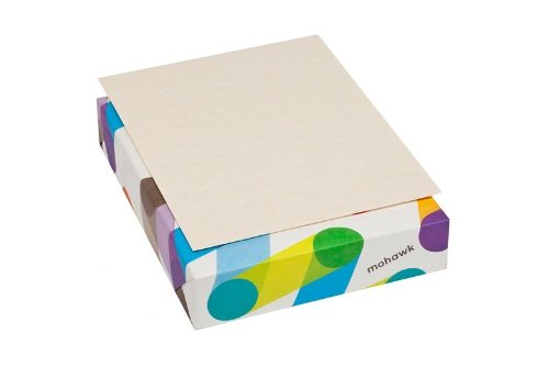 Mohawk Skytone Vellum Parchment Paper, 60 text 8.5 x 11 Inches, 500 Sheets/Ream - Sold as 1 Ream, Natural Shade (96600600)