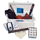 Softball Cooler Kit with Leather Gloves (PAC)