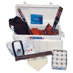 Softball Cooler Kit with Leather Gloves (PAC) by BSN SPORTS (Image #1)