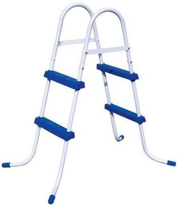 Bestway Escalera 2 peldaños de piscina 84 cm altura-Peso: 5,6 kg.: Amazon.es: Jardín