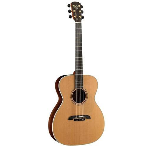 Alvarez Yairi Masterworks FYM75 Folk/OM Acoustic Guitar, 20 Frets, One Piece Mahogany Neck, Ebony Fingerboard, Solid AA Western Red Cedar, ()