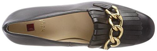 para 0100 Högl Tacón Zapatos Mujer Schwarz de Negro 10 5 3520 Zaaw0qO