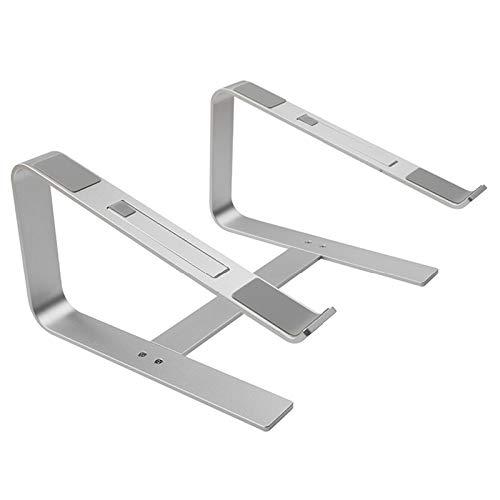 CUHAWUDBA Soporte de Aluminio para Computadora Port/áTil Soporte de Port/áTil de Refrigeraci/óN de Metal Ergon/óMico para Book Air Pro Soporte de Base para Computadora Port/áTil