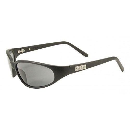 Black Flys Micro Fly Sunglasses - Matte Black - Smoke Polarized Lenses