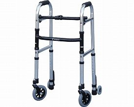 【歩行器】ミニフレームウォーカーキャスターモデル ◆Mサイズ [WFM-4262SW5GW3] B00H7Y20MS