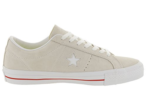 Converse Men's Sneakers Suede Star Red White Egret One 77x1vr