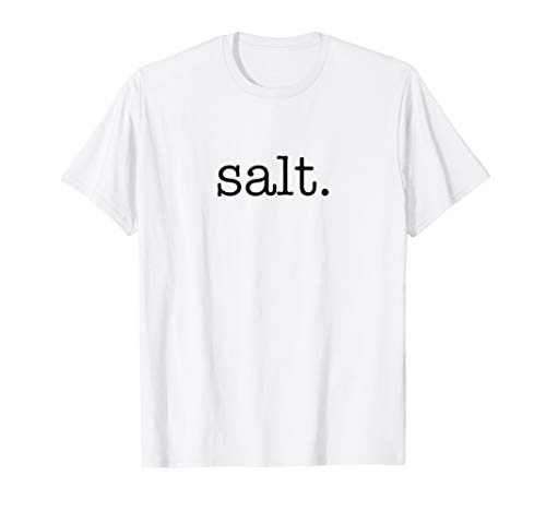 Matching Halloween Shirt SALT and pepper Costume for Couples ()