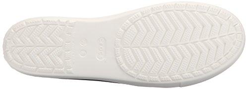 Zuecos crocsCitiLane Mujer Flat W White Navy Blu z4Fq4