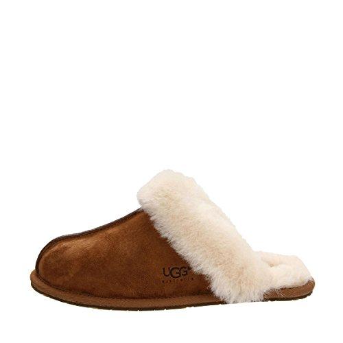 Australia II Scuffette UGG Chestnut Women's Slippers qCEdx5dw
