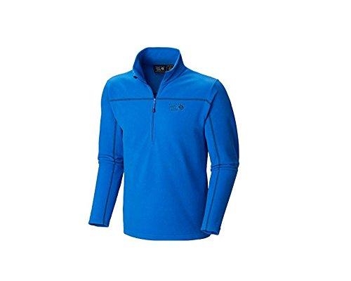 Mountain Hardwear Men's Microchill Zip Tee Collegiate Navy / Azul Small