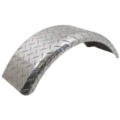 "AMRC-17960ATB.1 * Round Aluminum Trailer Fenders for 13"" Tires - Single"