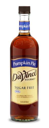 DaVinci Gourmet Pumpkin Pie SUGAR FREE Syrup w/ Splenda 750 mL