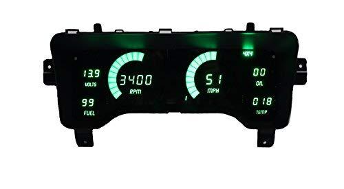 (Intellitronix Corp. 1997-2006 Jeep TJ LED Digital Dash Replacement Panel)