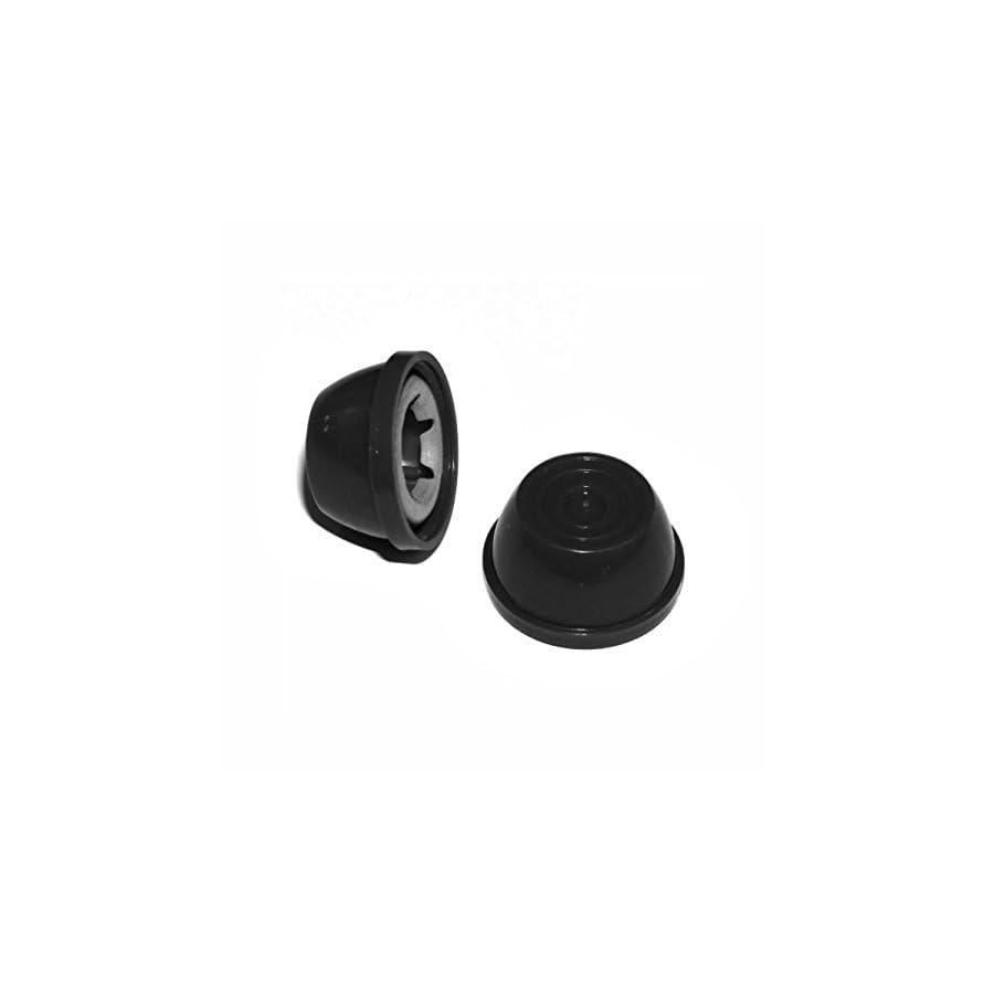 FR 2 pk Hub Caps for Radio Flyer Bike/TRIKES fits 3/8 Axle Diameter