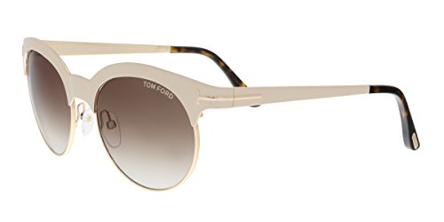 Tom Ford Sunglasses TF 438 Angela Sunglasses 28F White - Sunglasses Tom Ford White