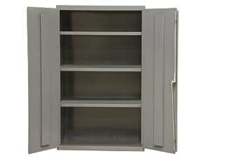 Durham 16 Gauge Welded Steel Industrial Duty Strength Storage Cabinet,  2601 3S 95, 3 Adjustable Shelves Good Ideas