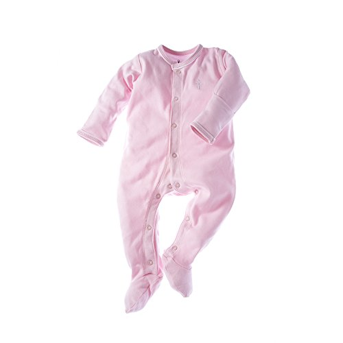 little-pharo-100-extra-long-staple-egyptian-cotton-footed-one-piece-bodysuit-pink-size-3-6-months
