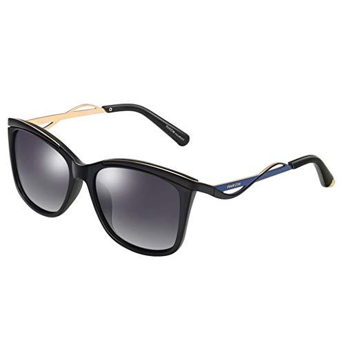 One Soleil Soleil couleur Purple Polaroids Size Pour De Lunettes Nouveau Noir Zxw Retro Sunglasses Light Tide Taille Femmes ZqE4Utp