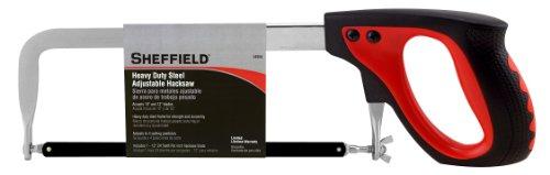 Sheffield 58250 Heavy Duty Steel Adjustable Hacksaw