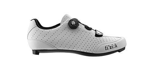 Scarpe Da Ciclismo Da Strada Fizik R3 Uomo Boa Bianco / Nero