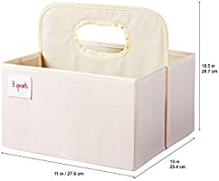 Organizer Basket for Nursery Free Shiping 3 Sprouts Baby Diaper Caddy New