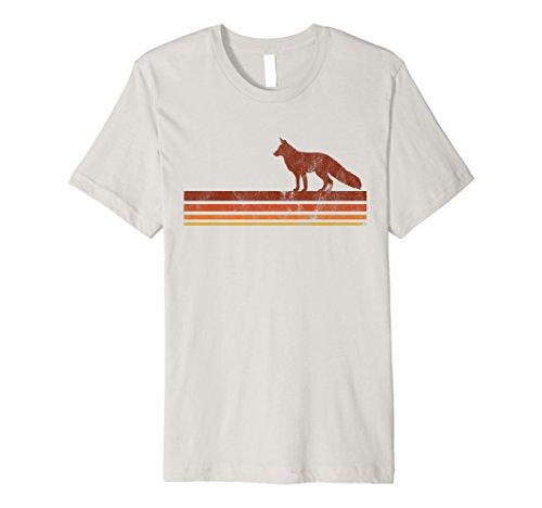 Cute Vintage Fox T-shirt Retro Hipster 70s 80s Wanderlust