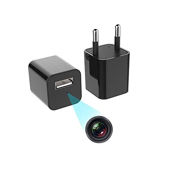 ENEM Hidden Camera   USB Charger, Spy Cameras, Hidden Camera for Home, Mini Camera 1080P Full HD Audio and Video Recorder, Home, Office, Kids, Baby, Pet Monitoring, Pack of 1   6 Months Warranty