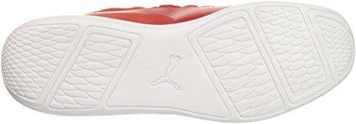 PUMA Mens SF EVO Cat Mid Sneaker Rosso Corsa-rosso Corsa-puma White 8Gy6wlF3AD