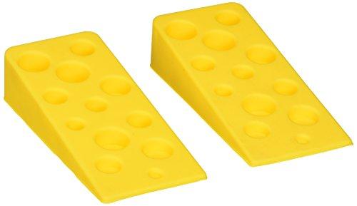 (Swiss Cheese Door Wedge Set of 2 Door Stoppers by Natorytian)