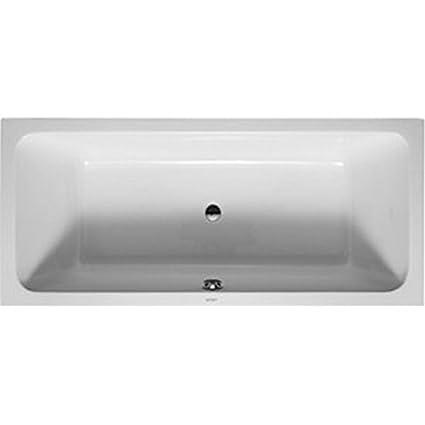 Extrem Duravit 700101000000090 Bathtub D-Code 1800x800mm white with 2 SN62