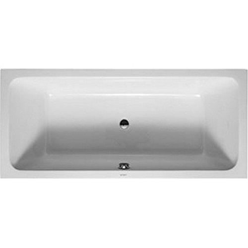 (Duravit 700101000000090 Bathtub D-Code 1800x800mm white with 2 backrest slopes, US-version, Large - LTL,)