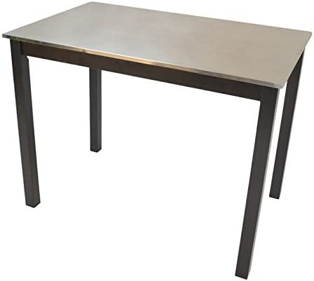 Carolina Cottage Carter Stainless Steel Top Bar Table