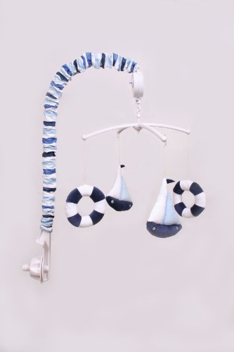 Little Sailor Musical Mobile (Nautical Mobile For Crib)