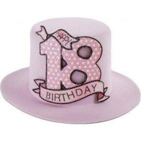 Unbekannt 1 Stk. Sombrero de Fiesta de cumpleaños 18 años ...