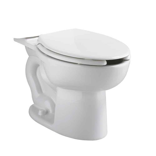 American Standard 3481.001.020 Cadet Elongated Pressure Assisted Toilet Bowl, White