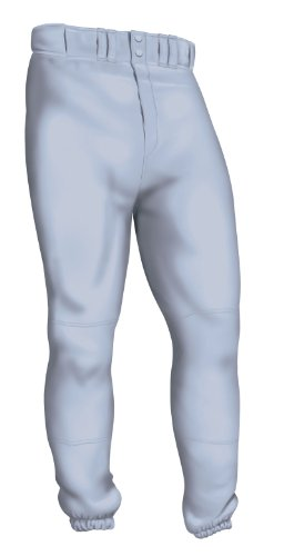 (Easton Men's Pro Plus Baseball Pants (Grey, XX-Large) )