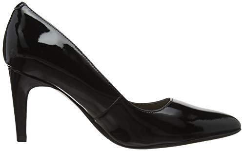 black Nero Scarpe Clarks Rae Donna Patent Con Laina Tacco wAvAaPq